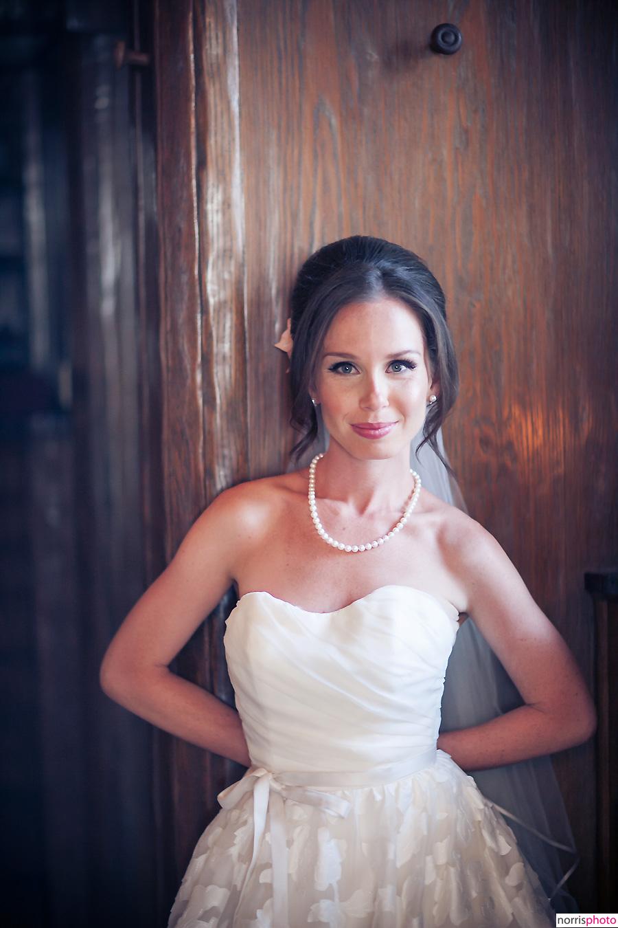 oviatt penthouse wedding bride