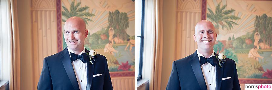 oviatt penthouse wedding groom