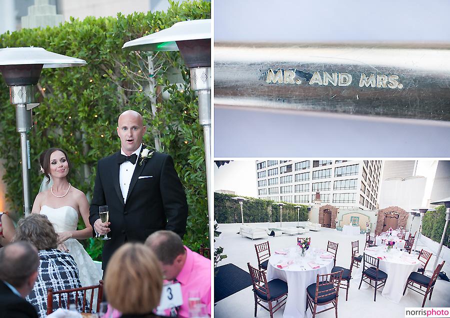 oviatt penthouse wedding reception