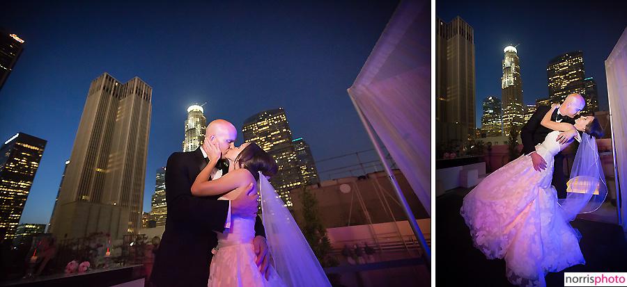 oviatt penthouse wedding rooftop