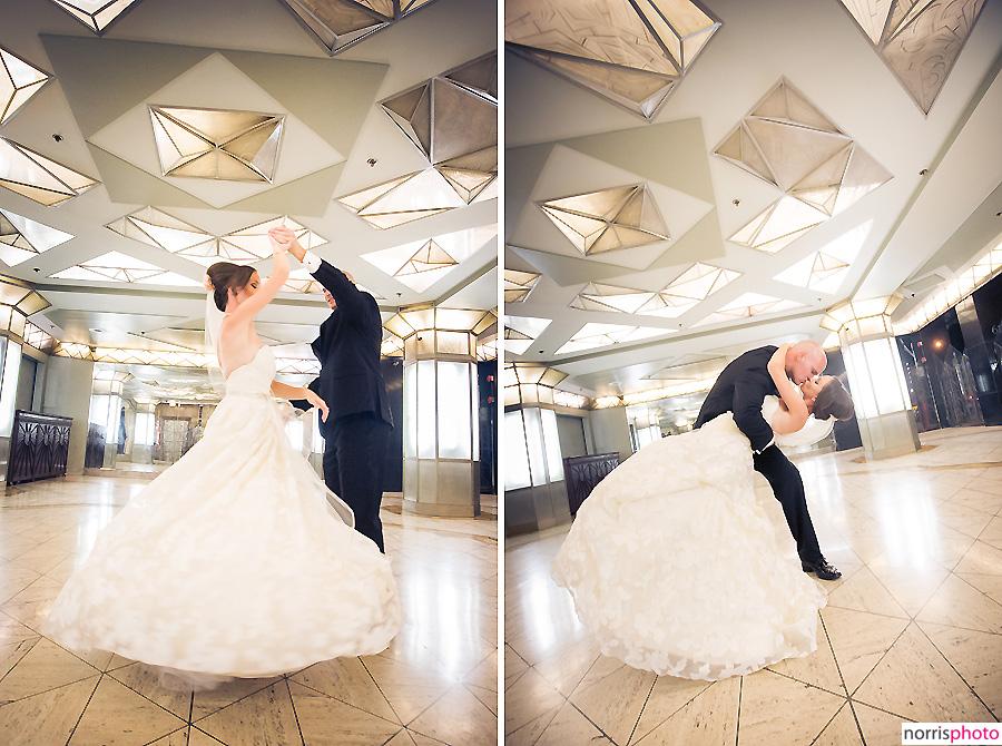 oviatt penthouse wedding cicada dancing